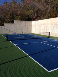 Pickleball court at Stagecoach & Buckboard