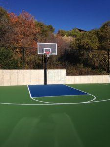 Basketball court at Stagecoach & Buckboard